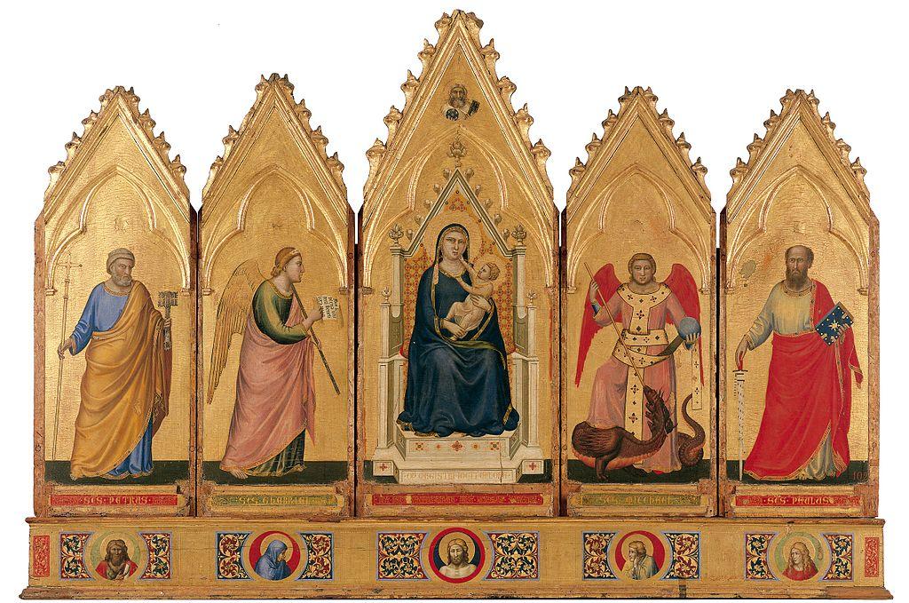 Polittico di Giotto - Pinacoteca Nazionale di Bologna