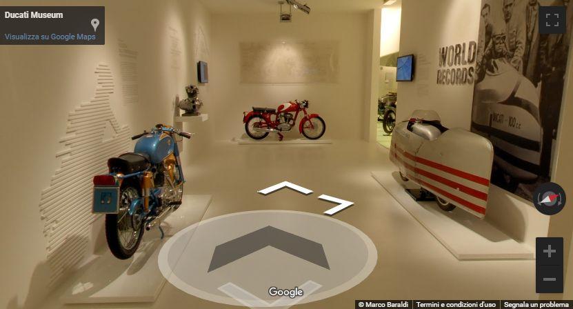 Visita virtuale al Museo Ducati di Bologna